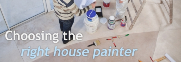 Edmonton House Painters - Choosing the right painter for your home